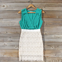 Clover Sky Lace Dress