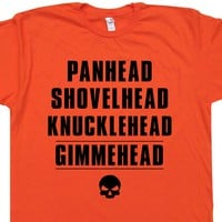 Gimmehead Offensive Motorcycle T Shirt Funny Biker Tee
