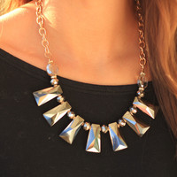 Winter Grey Necklace