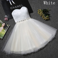 Party 2016 new summer short style evening dress bridesmaid graduation host sister bridesmaid dress betrothed girl