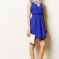 Jeweled Convertible Dress by Moulinette Soeurs Blue