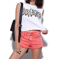 Civil Creep Cropped Muscle Tee at PacSun.com