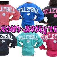 Billboard Volleyball Jersey Long Sleeve T-shirt