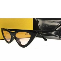 FENDI Fashionable Woman Men Personality Sun Shades Eyeglasses Glasses Sunglasses I/A