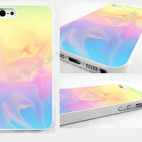 case,cover fits iPhone, iPod models>Tie Dye,gift,abstract,bright,pastel,glossy.