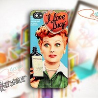 I Love Lucy - design for iPhone 4/4S Black case