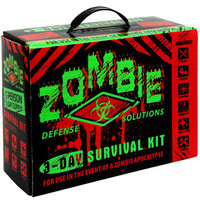 Zombie 3 Day Defense Survival Kit 5 Year Walking Dead Disaster Preparedness NEW