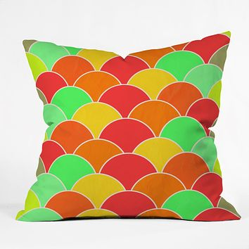 Rebecca Allen Color Sea Throw Pillow