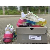 Balenciaga Triple S Trainers Colorful Sneaker 35-45
