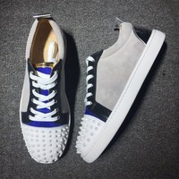 Christian Louboutin CL Low Style #2013 Sneakers Fashion Shoes Best Deal Online