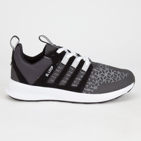 Adidas Originals Sl Loop Runner Weave Mens Shoes Core Black/Light Solid Grey/Solid Grey  In Sizes