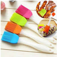 1 Pc Silicone Baking Cake Pastry Bread Bakeware Oil Roast Cream Utensil Basting Brush