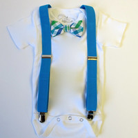 Bow Tie Onesuit with Suspenders, Bow Ties, Newborn Bow Ties, Onesuit with Suspenders, Baby Bow Ties, Bow Ties, Boy Bow Ties, Newborn Bow Tie