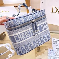 DIOR Oblique Toiletry Bag