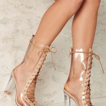 Clear Path Lace-Up Boot