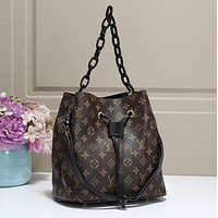 LV Women Shopping bag Leather Satchel Handbag Crossbody Shoulder Bag