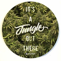 JUNGLE OUT THERE DAB MAT