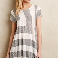 Angled Stripe Swing Top by Puella
