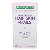Optimal Solutions¨ Extra Strength Hair-Skin and Nails - 150 Caplets