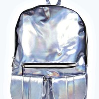 Gaby Holographic Backpack