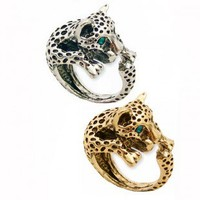 Zad Leopard Ring