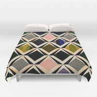 discovering diamonds Duvet Cover by SpinL