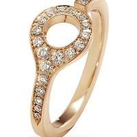 GEORG JENSEN - Dune 18ct rose-gold and diamond ring | Selfridges.com