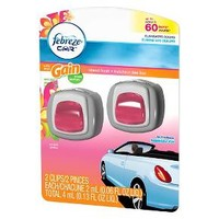 Febreze Car Vent Clip with Gain Island Air Freshener 0.13 oz