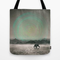 Spinning Out of Nothingness Tote Bag by Soaring Anchor Designs | Society6
