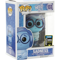 Funko Disney Inside Out Pop! Glitter Sadness Pop Vinyl 2015 Summer Convention Exclusive
