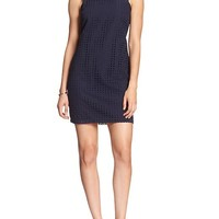 Banana Republic Womens Factory Eyelet Shift