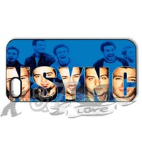nsync X&TLOVE DIY Snap-on Hard Plastic Back Case Cover Skin for Apple iPhone 5 5G - 3006
