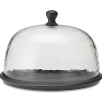 Bronze & Glass Domed Tray