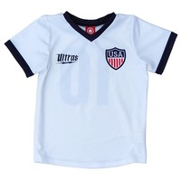 USA #10 White Toddler Soccer Sublimated Jersey