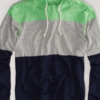 AEO 's Striped Hoodie Tee (Face Mask)