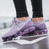Nike Air Vapormax Flyknit Women Men Fashion Casual Sneakers Sport Shoes