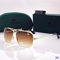 LACOSTE New fashion polarized men sun protection glasses eyeglasses 3#
