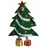 Rasta Imposta Christmas Tree Costume, Green, One Size