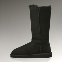 UGG Bailey Button Triplet Boots 1873 Black