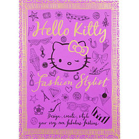 River Island Girls purple Hello Kitty book