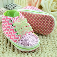 Baby Shoes Infant Toddler Shoes For born Girl Kids Classic Sports Sneakers Soft Bottom Anti-slip T-tied Shoes Sneakers