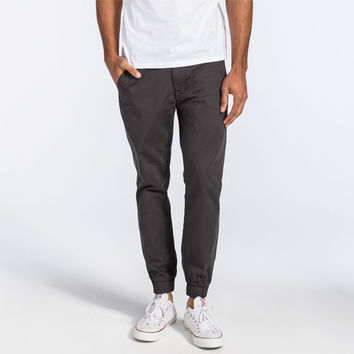 Levi's Mens Chino Jogger Pants Graphite  In Sizes