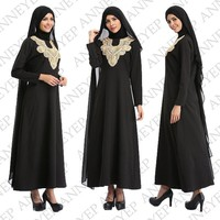 Embroidery  dresses for women Islamic dresses