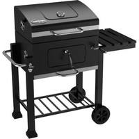 Outdoor Portable Backyard Charcoal BBQ Barbeque Grill with Storage