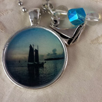 Key West Sail Photographic Pendant