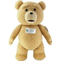 """Ted 24"""" Plush with Sound, 12 Phrases"""