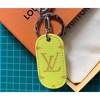 Louis Vuitton new fashion brand bag pendant keychain, the same style for men and women, exquisite