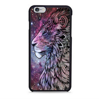 lion aztec grey galaxy Iphone 6s Case
