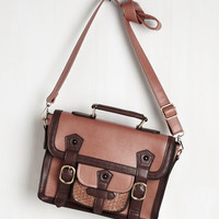 Cottage Visit Bag in Mocha | Mod Retro Vintage Bags | ModCloth.com
