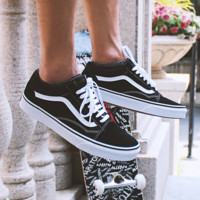 Vans Shoes Classic time skateboard shoes canvas shoes old school style shoes